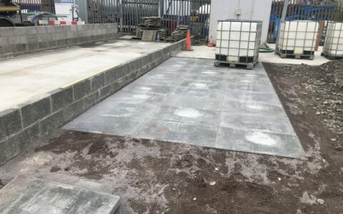 Concrete, slab & block works, Waste Water Services